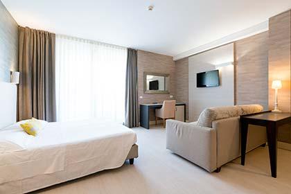 Chambre Quadruple Hôtel Joseph Marina di Pietrasanta
